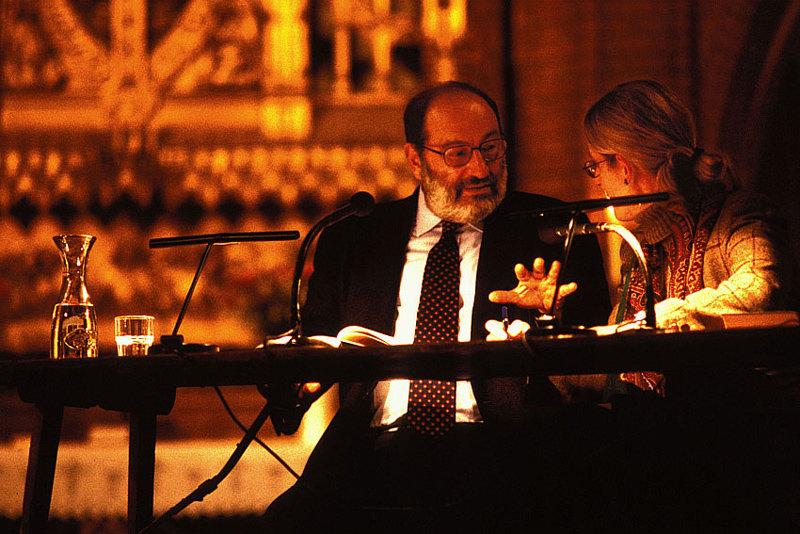Umberto Eco Lesung